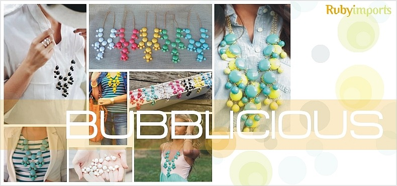 bubble fashion jewelry