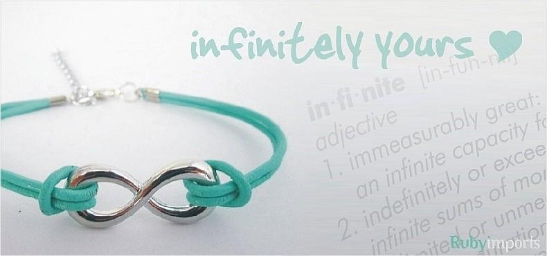 infinity fashion jewelry