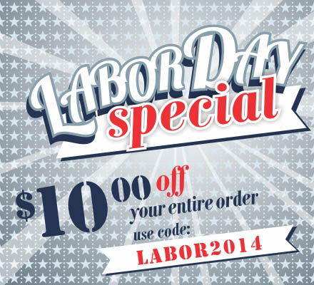 labor day coupon