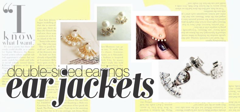 double-sided ear jackets