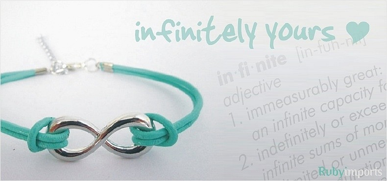 Inifity fashion jewelry