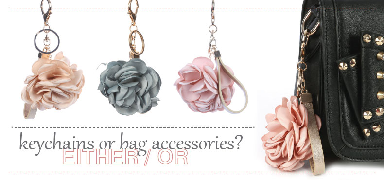 keychains / bag accessories